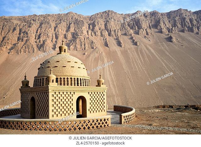China, Xinjiang Uyghur Autonomous Region, Turpan (Turfan, Tulufan), Flaming Mountains