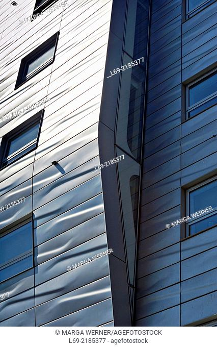 HL 23 Building by Neil Denari at High Line Park, Chelsea, New York USA