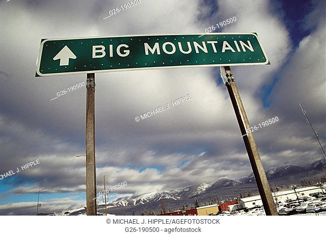 Big Mountain Ski Resort. Whitefish. Montana