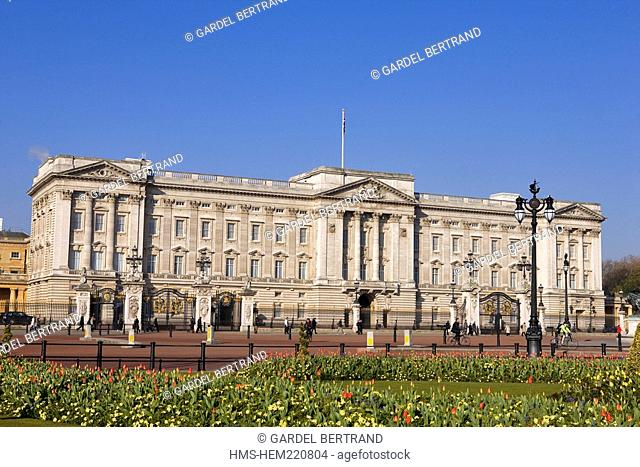 United Kingdom, London, Buckingham Palace