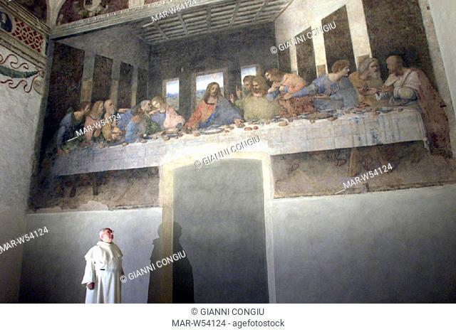 italy, lombardia, milan, santa maria delle grazie, the last supper