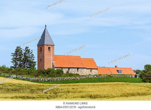 Ørum Kirke, Thisted Kommune, North Jutland, Denmark