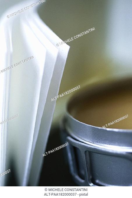 Depilatory wax, close-up