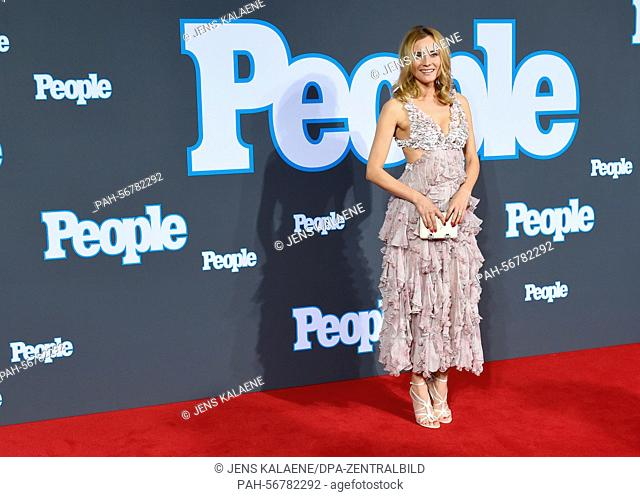 German actress Diane Kruger arrives for the Red-Carpet-Show of 'People' magazine Germany at the Hotel Waldorf Astoria in Berlin, Germany, 17 March 2015
