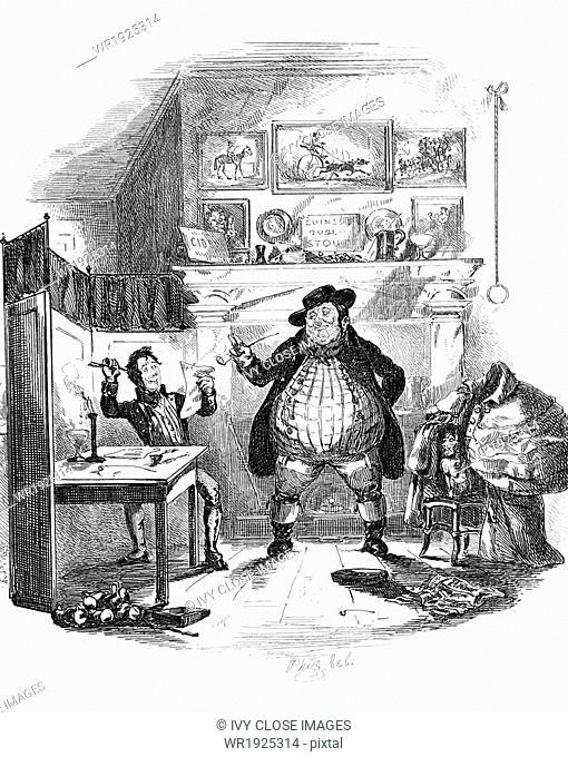 English novelist Charles Dickens (1837–1870) publshedhis first novel The Pickwick Papers in 10 installments of three chapters each