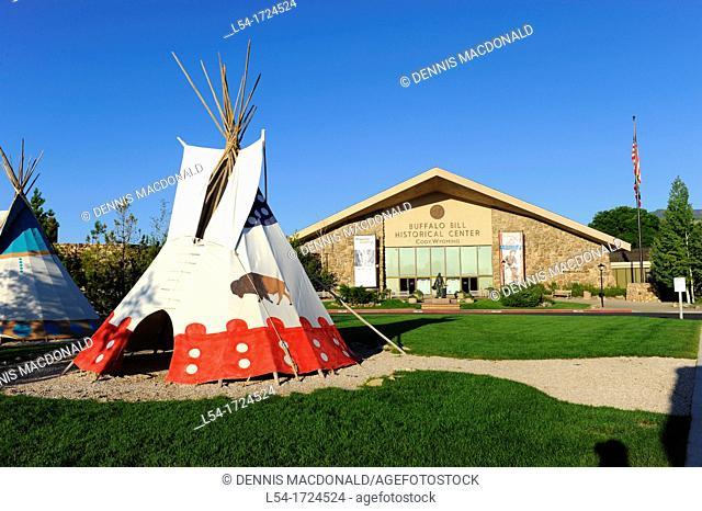 Teepee Cody Wyoming WY Buffalo Bill Wild West Historical Center Yellowstone National Park