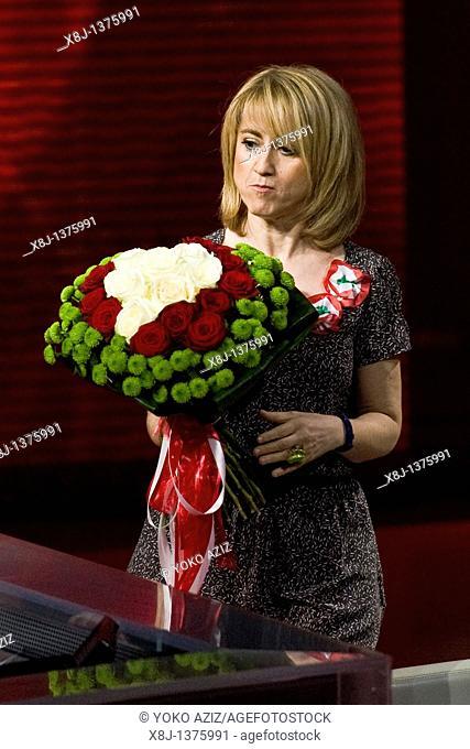 13 03 2011  Milan  RAI 3, telecast 'Che tempo che fa'  Luciana Littizzetto