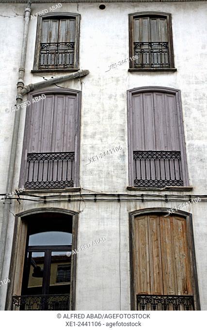 Balconies, Perpignan, France
