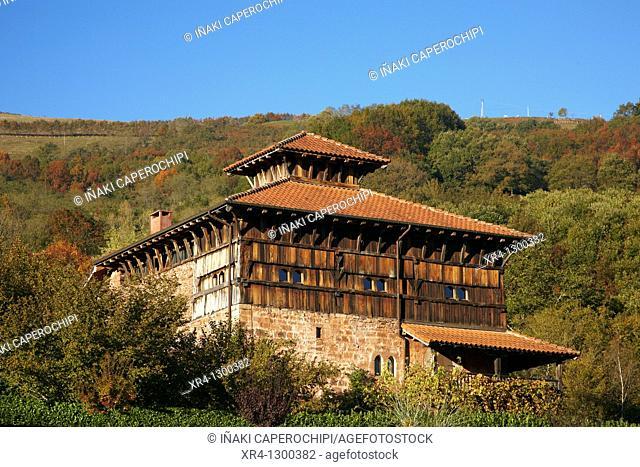 Palace of Jauregizar, Arraioz Baztan, Valley, Navarra Nafarroa, Spain España