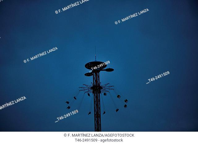 STAR FLYER, attraction in Madrid&39, s Theme Park
