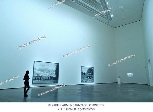 Modern art exhibition at Guggenheim Bilbao museoa, Bilbao, Basque country, Euskadi, Spain
