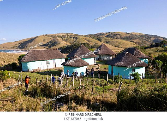 Xhosa Village at Wild Coast, Mbotyi, Eastern Cap, South Africa