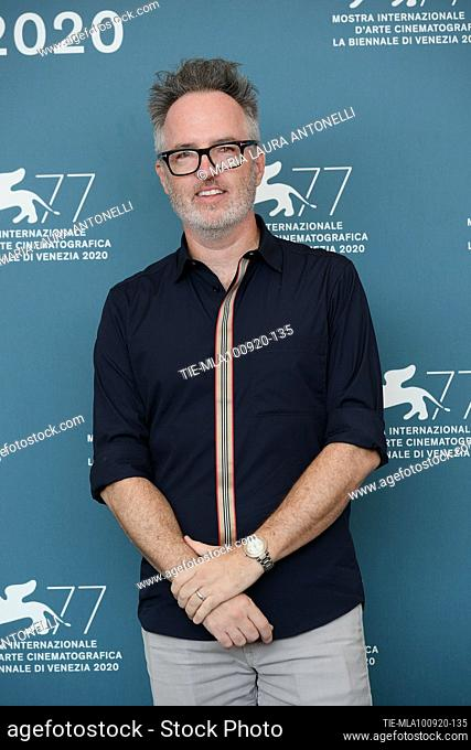 The director Kyle Rankin during the photocall at the 77th Venice Film Festival, Venice, ITALY-10-09-2020