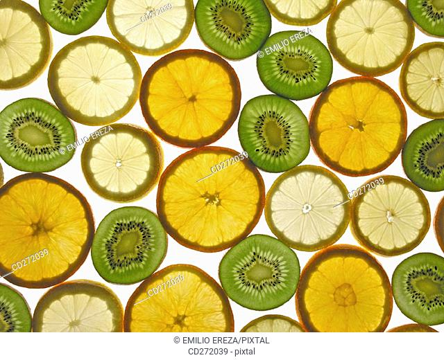 Oranges, lemons and kiwis