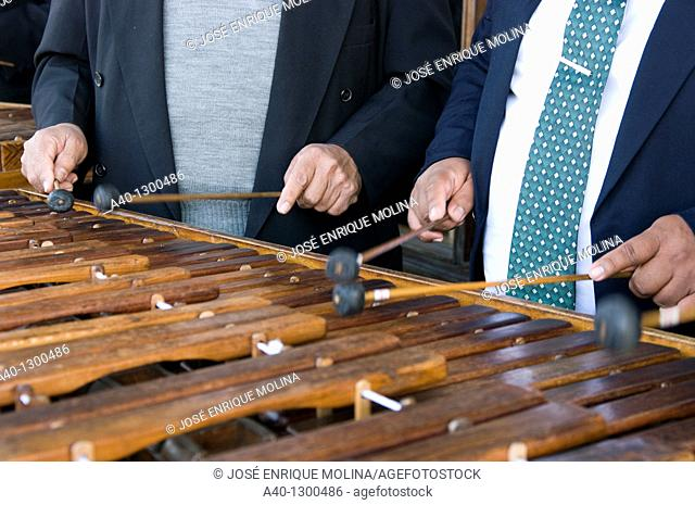 Guatemala. The Marimba