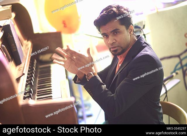 Indian pianist