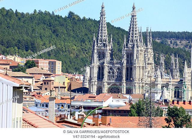 The Santa Iglesia Catedral Metropolitana de Santa María is a cathedral temple of Catholic worship dedicated to the Virgin Mary, in the Spanish city of Burgos