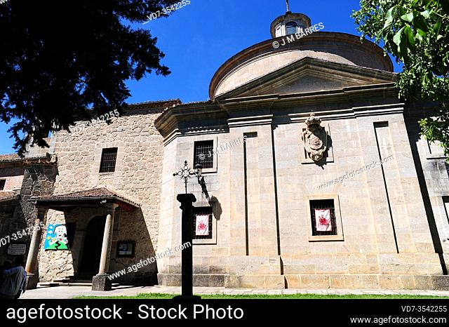 Capilla Real de San Pedro de Alcantara, 18th century. Avila province, Castilla y Leon, Spain