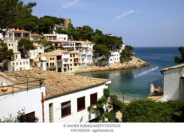 Sa Tuna, Begur. Costa Brava. Girona province. Catalonia, Spain