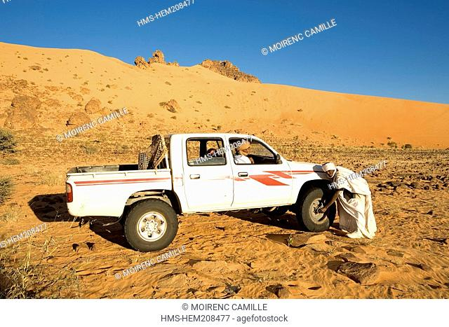Mauritania, Adrar, Chinguetti area, Leguerara