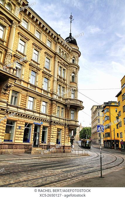 Skillnadsgatan Street, Helsinki, Finland, Europe