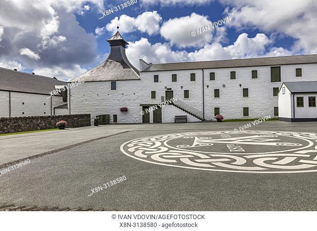 Ardbeg distillery, Islay, Inner Hebrides, Argyll, Scotland, UK