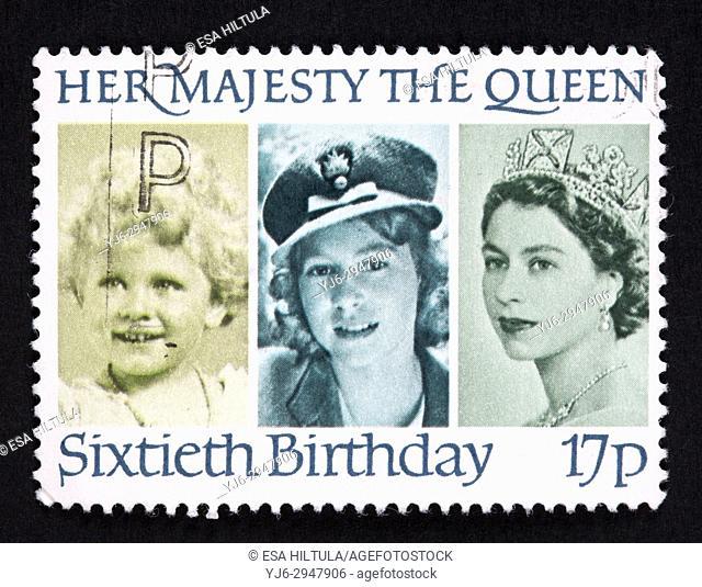 UK postage stamp