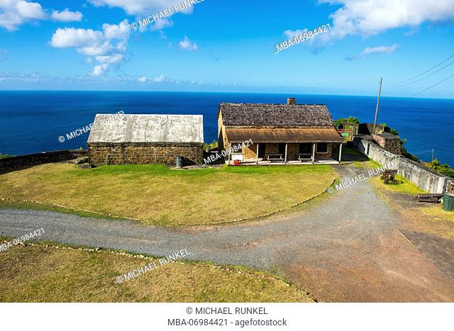 Old barracks in Fort Charlotte, St.Vincent, St. Vincent and the Grenadines, Caribbean