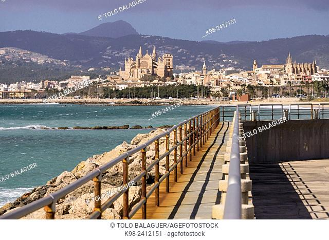 Can Pere antoni, bahia de Palma, Majorca, Balearic Islands, Spain