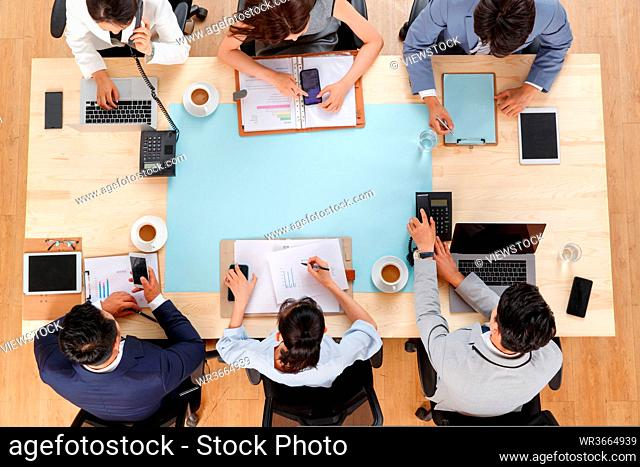 Business team meeting in indoor