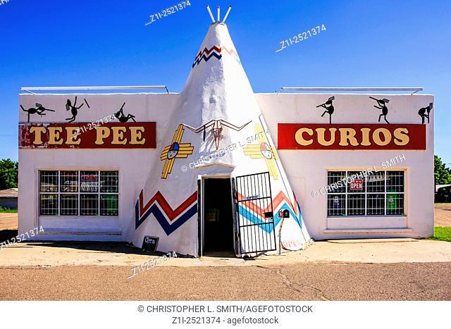 The Tee Pee Curios store in Tucumcari NM