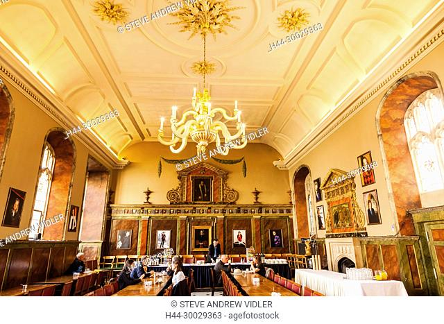 England, Oxfordshire, Oxford, Oxford University, Trinity College, The Dining Hall