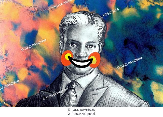clown smile