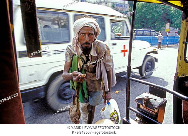 Beggar, New Delhi, India