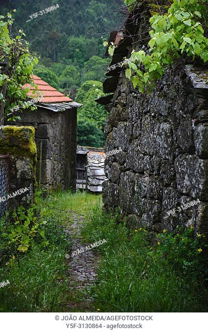 Small village in the Freita mountains, nearby Arouca