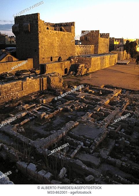 Citadel, Damascus, Syria