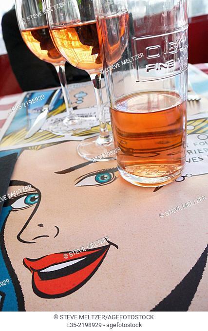 pop art restaurant decor