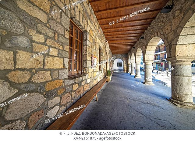 Bielsa council Historic building. Pineta Valley, Huesca Pyrenees, Aragón, Spain