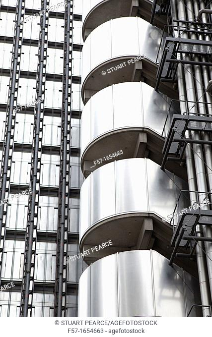 Lloyds Building in the City of London, England