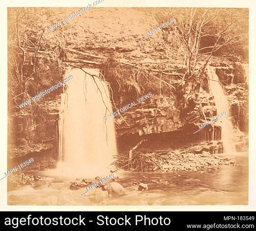 The Lower Fall. Artist: G. B. Gething (British); Date: 1856; Medium: Albumen silver print; Classification: Photographs; Credit Line: The Elisha Whittelsey...