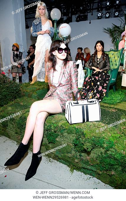 New York Fashion Week Spring/Summer 2017 - Alice + Olivia by Stacey Bendet presentation Featuring: Models Where: New York, New York