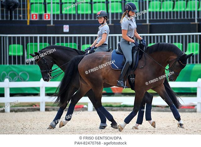 Kristina Broring Sprehe L On Desperados And Dorothee Schneider Of Germany On Showtime Ride Their Stock Photo Picture And Rights Managed Image Pic Pah 82470768 Agefotostock