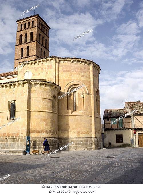 Romanesque church of San Lorenzo, Segovia, Castilla-Leon, Spain