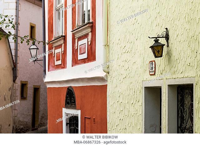 Austria, Lower Austria, Stein an der Donau, town detail