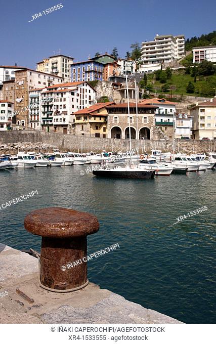 Fishing Port of Mutriku, Mutriku, Motrico, Gipuzkoa, Guipuzcoa, Basque Country, Basque Country, Spain