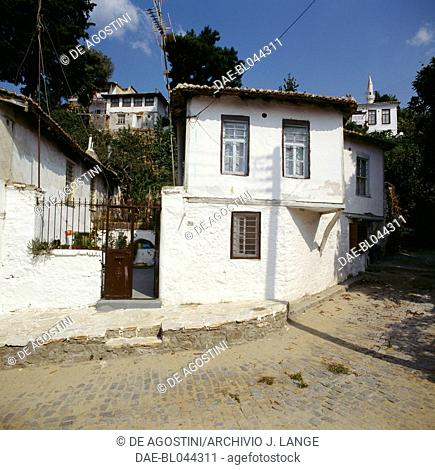 Traditional housing in Xanthi, Eastern Macedonia and Thrace, Greece