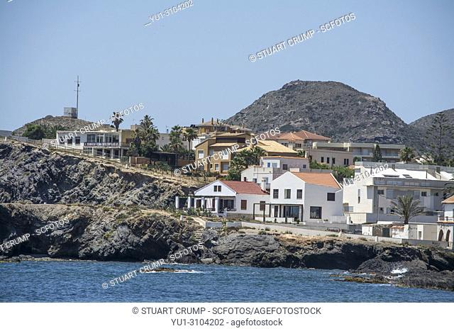 Seafront property in the Spanish harbour town of Cabo de Palos in Murcia