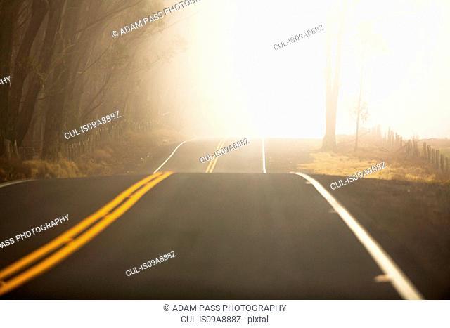 Saddle road, Big Island, Hawaii, USA