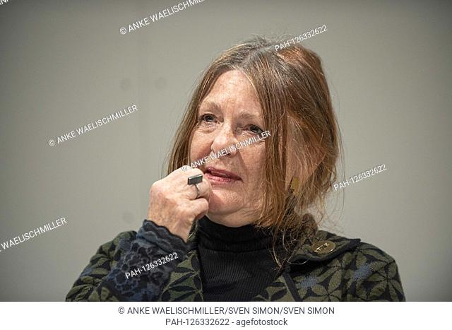 Cecilie LOVEID, NOR, playwright, lyricist, 18.10.2019, Frankfurt Book Fair 2019 from 15.10 - 20.10.2019 in Frankfurt am Main / Germany