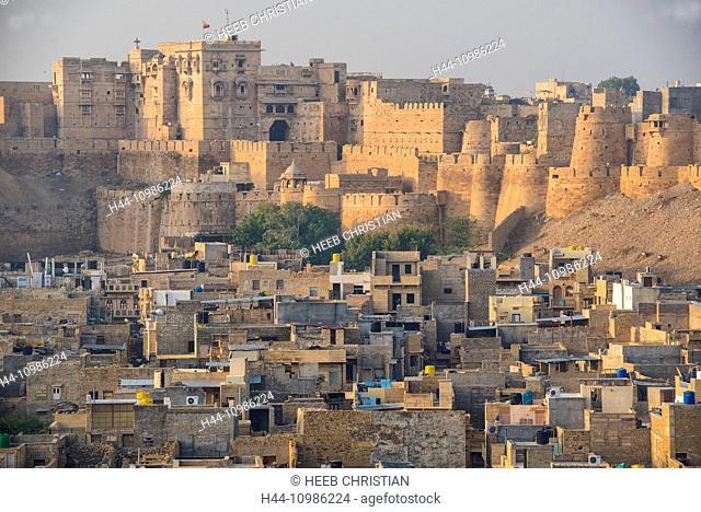 old city of Jaisalmer, India